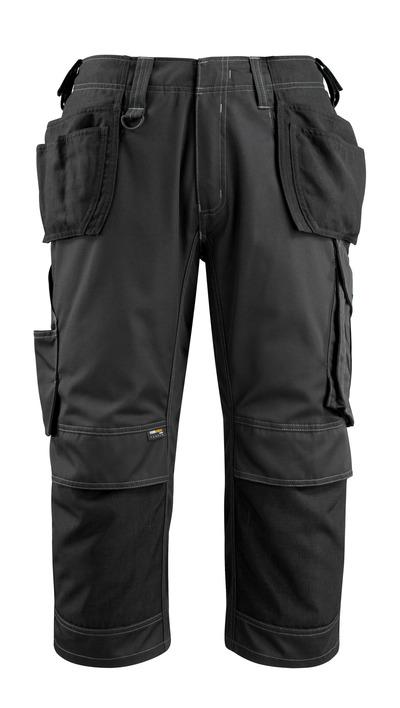 MASCOT® Lindau - sort - Knickers med CORDURA®-knæ- og hængelommer, høj slidstyrke