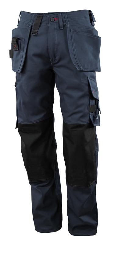 MASCOT® Lindos - mørk marine - Bukser med CORDURA®-knælommer og hængelommer, lav vægt