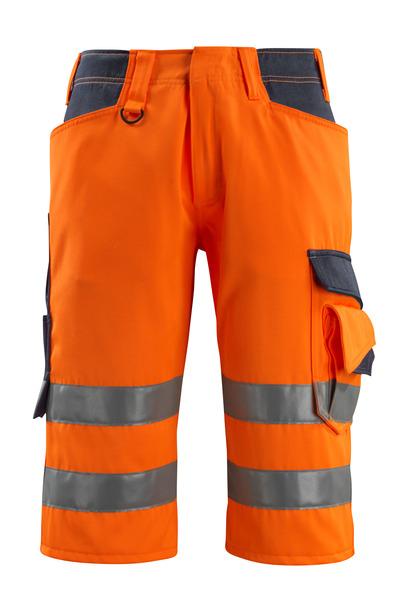 MASCOT® Luton - hi-vis orange/mørk marine - Knickers, kl. 1