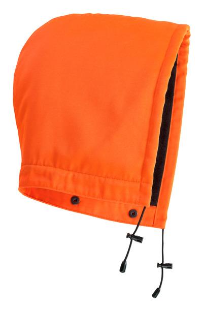 MASCOT® MacAllen - hi-vis orange - Hætte med trykknapper og fór, vandafvisende