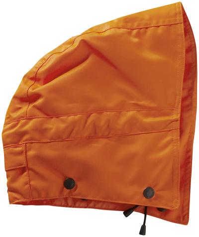 MASCOT® MacCall - hi-vis orange - Hætte med trykknapper og fór, vandtæt