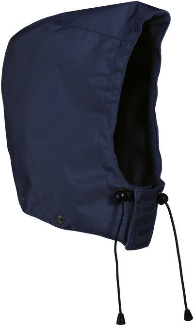 MASCOT® MacKay - marine - Hætte med trykknapper og fór, vandtæt
