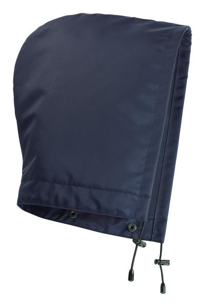 MASCOT® MacKlin - marine - Hætte med trykknapper og fór, vandtæt
