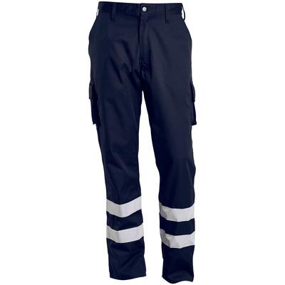 MACMICHAEL® MacMichael - mørk marine - Bukser med lårlommer, refleksbånd, lav vægt