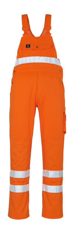 MASCOT® Maine - hi-vis orange* - Overall med knælommer, kl. 2/2