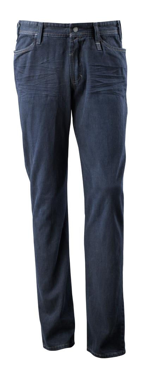 MASCOT® Manhattan - vasket mørkeblå denim¹) - Jeans