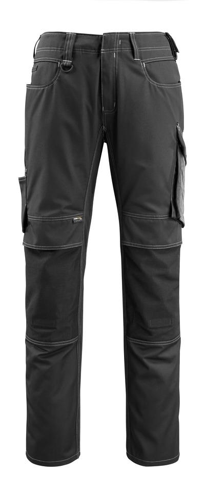 MASCOT® Mannheim - sort/mørk antracit - Bukser med CORDURA®-knælommer, lav vægt