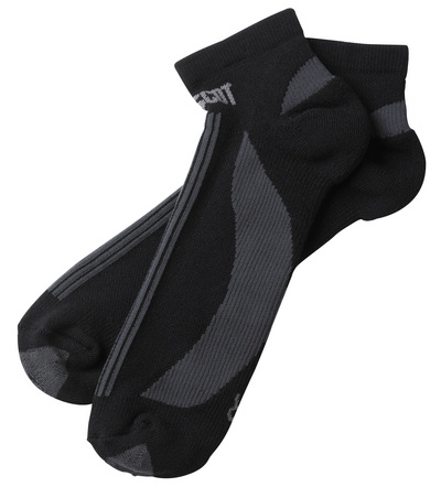 MASCOT® Maseru - sort/mørk antracit - Sokker, korte, svedtransporterende