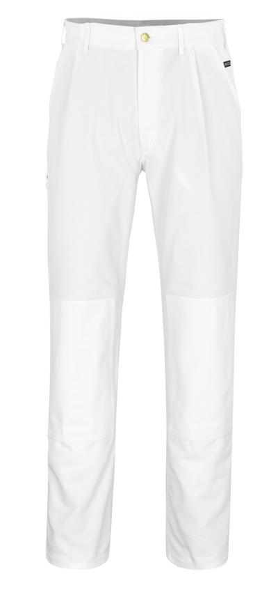 MASCOT® Michigan - hvid* - Bukser med knælommer