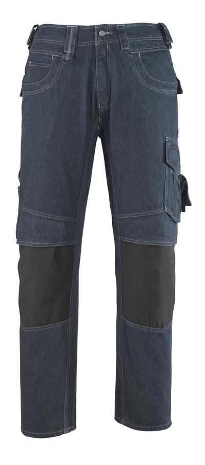 MASCOT® Milton - denimblå* - Jeans med knælommer