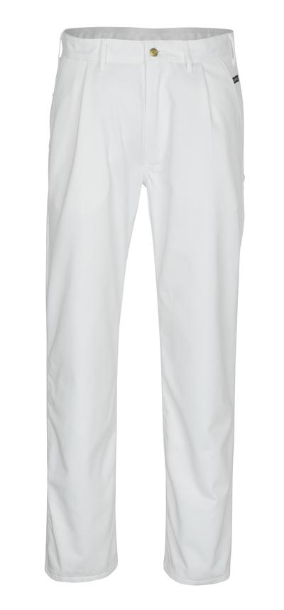 MASCOT® Montana - hvid - Bukser, høj slidstyrke