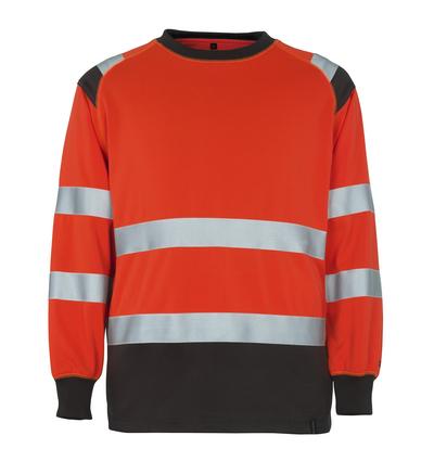 MASCOT® Montijo - hi-vis rød/mørk antracit* - Sweatshirt, klassisk pasform, kl. 2