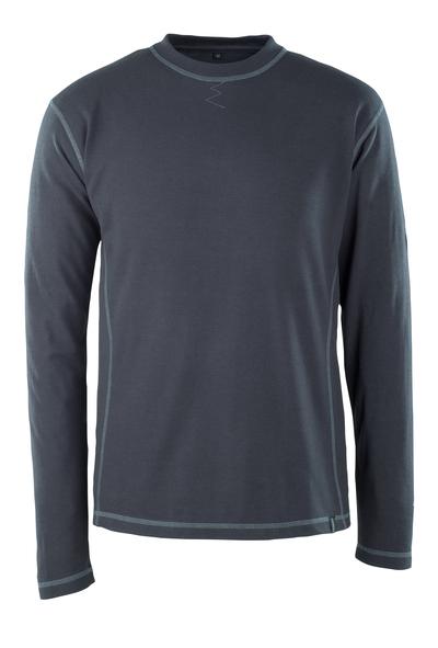 MASCOT® Muri - mørk marine - T-shirt, langærmet, multibeskyttelse, moderne pasform