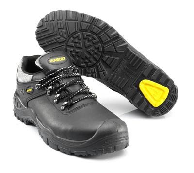 MASCOT® Oro - sort/gul - Sikkerhedssko S3 med snørebånd