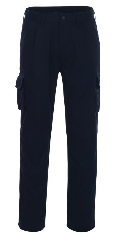 MASCOT® Pasadena - marine - Bukser med knælommer, lav vægt