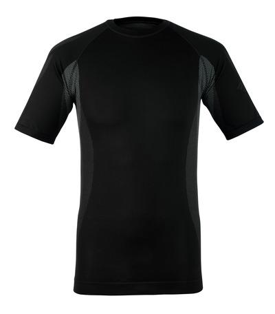 MASCOT® Pavia - mørk antracit - Funktionsundertrøje, kortærmet, lav vægt, svedtransporterende