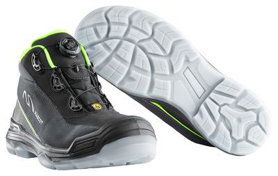 MASCOT® Petros - sort/hi-vis gul - Sikkerhedsstøvle S3 med Boa®-lukning