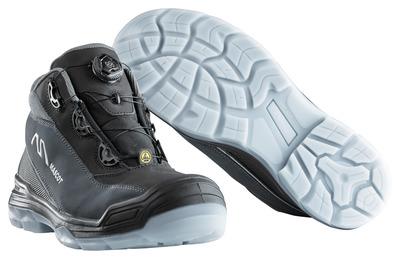 MASCOT® Petros - sort/antracit - Sikkerhedsstøvle S3 med Boa®-lukning
