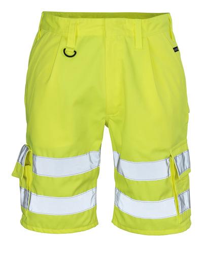 MASCOT® Pisa - hi-vis gul - Shorts, kl. 1