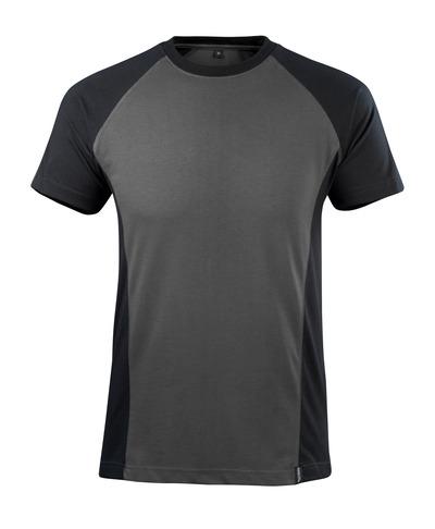 MASCOT® Potsdam - mørk antracit/sort - T-shirt, moderne pasform