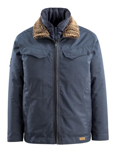 MASCOT® Queens - indigo denimblå - Vinterjakke, vatteret, vandafvisende