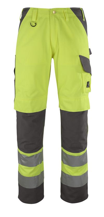 MASCOT® Redondo - hi-vis gul/antracit* - Bukser med knælommer
