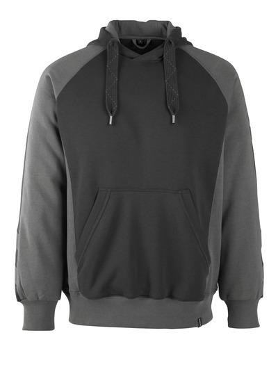 MASCOT® Regensburg - sort/mørk antracit* - Hættetrøje