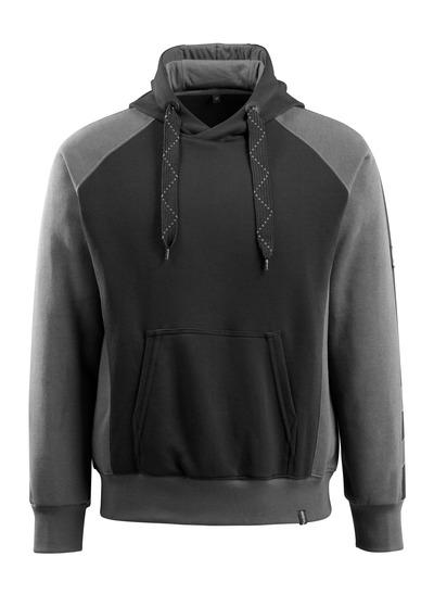 MASCOT® Regensburg - sort/mørk antracit - Hættetrøje