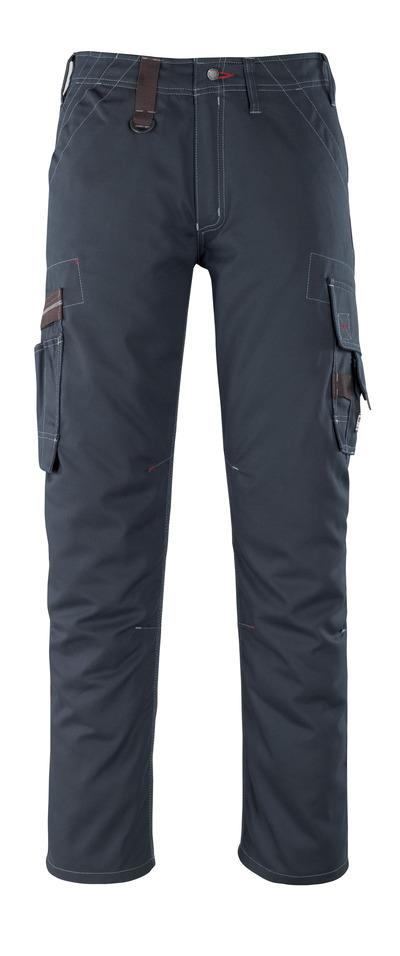 MASCOT® Rhodos - mørk marine - Bukser med lårlommer, lav vægt