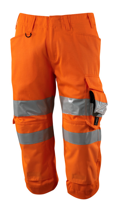 MASCOT® SAFE SUPREME - hi-vis orange - Knickers med knælommer, kl. 2
