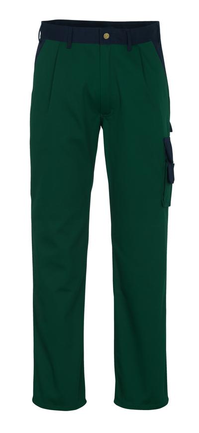 MASCOT® Salerno - grøn/marine* - Bukser, høj slidstyrke