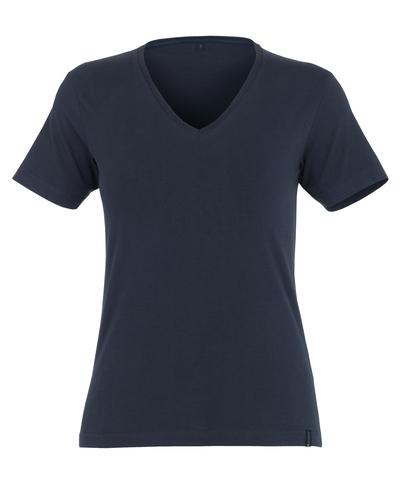 MASCOT® Skyros - mørk marine* - T-shirt, damemodel, V-hals