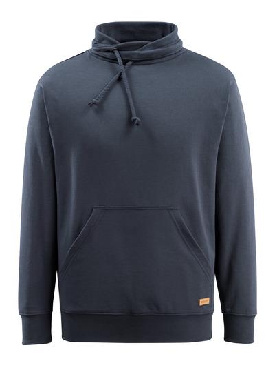 MASCOT® Soho - mørk marine - Sweatshirt med høj hals, moderne pasform