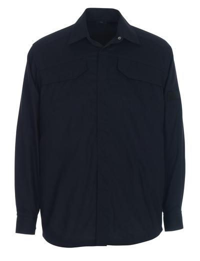MASCOT® Ternitz - mørk marine - Skjorte, multibeskyttelse, moderne pasform