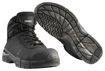 MASCOT® Trivor - sort - Sikkerhedsstøvle S3 med snørebånd