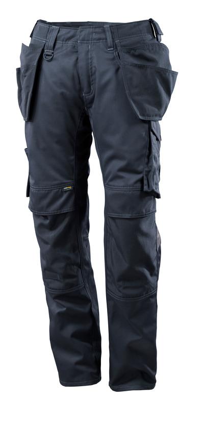 MASCOT® UNIQUE - mørk marine - Bukser med CORDURA®-knæ- og hængelommer, lav vægt