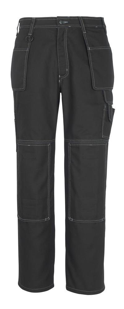 MACMICHAEL® Valera - sort* - Bukser med knæ- og hængelommer