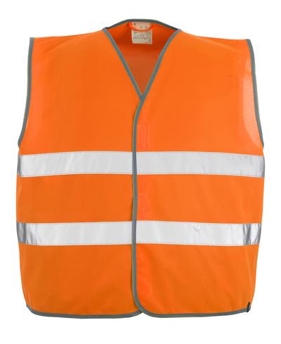 MASCOT® Weyburn - hi-vis orange - Trafikvest med lynlukning, kl. 2