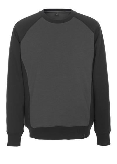 MASCOT® Witten - mørk antracit/sort - Sweatshirt, moderne pasform