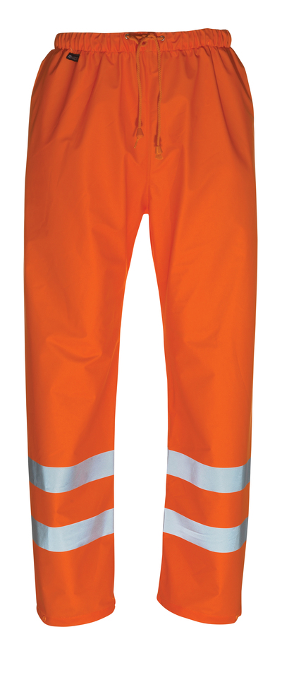 MASCOT® Wolfsberg - hi-vis orange - Regnbukser, vind- og vandtæt, kl. 1