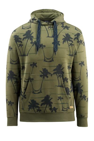 MASCOT® Woodside - mosgrøn - Hættetrøje